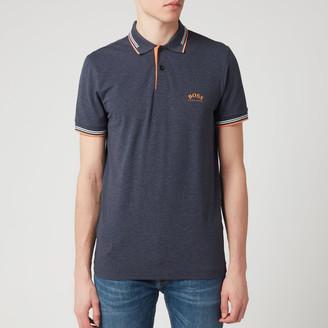 HUGO BOSS Men's Paul Curved Polo Shirt