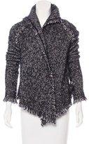 Zadig & Voltaire Fringe-Trimmed Knit Jacket