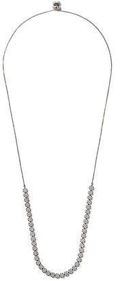 As 29 18k black gold diamond Indiana choker necklace