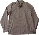 Saint Laurent Grey Cotton Shirt