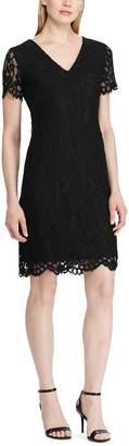 Lauren Ralph Lauren Lace Short Sleeve Dress