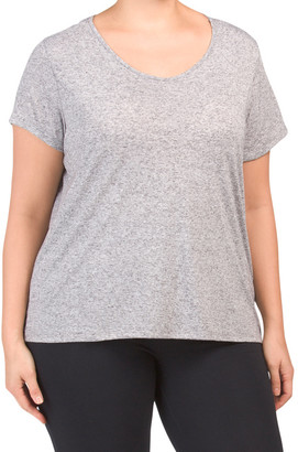 Plus Keyhole Detail Workout Tee