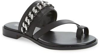 MICHAEL Michael Kors Bergen Curb Chain Slide Sandal