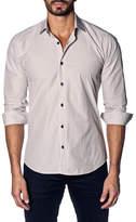 Jared Lang Check Slim Fit Shirt