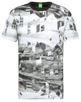 Hugo Boss Tee 6 Cotton Print T-Shirt L Black