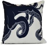 "Gus, Animal Print Pillow, Navy Blue, 16""x16"""