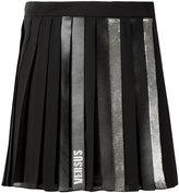 Versus pleated short skirt - women - Polyester - 42