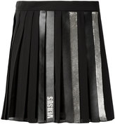Versus pleated short skirt