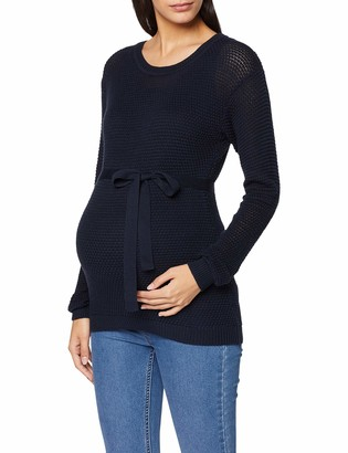 Mamalicious NOS Women's Mlcrystaline L/s Knit Blouse A. Noos Jumpers