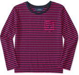 Ralph Lauren Striped Long-Sleeve Shirt, Big Girls (7-16)