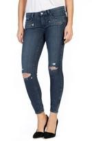 Paige Women's Transcend - Jane Zip Detail Ankle Jeans