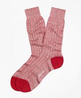 Brooks Brothers Marled Crew Socks