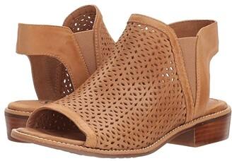 Sofft Nalda (Black Distressed Foil Suede) Women's 1-2 inch heel Shoes