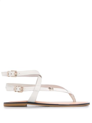 Tommy Hilfiger Double Buckle Sandals