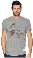 Original Retro Brand The Bobs Big Boy Tri-Blend Tee (Streaky Grey) Men's T Shirt