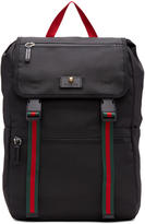 Gucci Black Techpack Backpack
