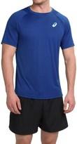 Asics Tennis Club Crew Neck T-Shirt - Short Sleeve (For Men)