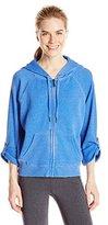 Calvin Klein Women's Distressed Fleece Hoodie