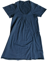 Miu Miu Blue Cotton Dress