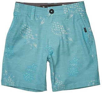 Rip Curl Kids Daily Boardwalk Shorts (Big Kids) (Green) Boy's Shorts