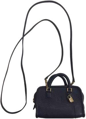 Loewe Amazona Navy Leather Handbags