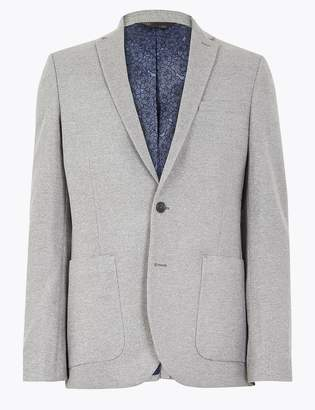M&S CollectionMarks and Spencer Big & Tall Textured Slim Fit Jacket