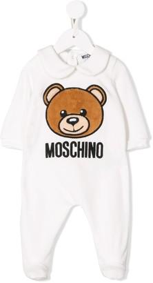 MOSCHINO BAMBINO Teddy Bear Logo Pajamas