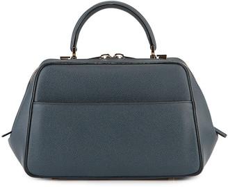 Valextra Saffiano Medium Top-Handle Bag