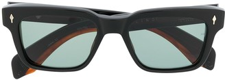 Jacques Marie Mage Square Tinted Sunglasses