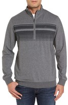 Travis Mathew Men's Ed Quarter Zip Pullover
