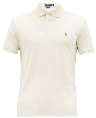 Polo Ralph Lauren Slim-fit Cotton Polo Shirt - Mens - Cream