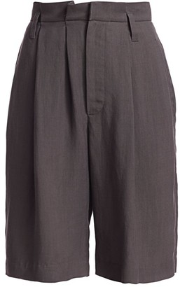 Brunello Cucinelli Pleat-Front Bermuda Shorts