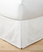 Hotel Collection Woven Accent California King Bedskirt