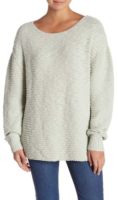 Free People Menace Solid Tunic Sweater