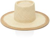 Janessa Leone Straw Panama Hat