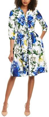 Samantha Sung Audrey Shirtdress