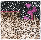 Dolce & Gabbana leopard print scarf - women - Silk - One Size