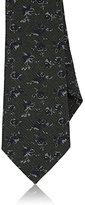 Isaia Men's Floral-Print Necktie