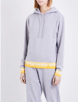 Opening Ceremony Branded-trim cotton hoody