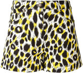 Moschino leopard print shorts - women - Cotton/other fibers - 38