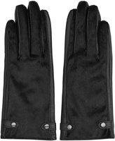 Reiss Jessica - Dents Leather Gloves in Black, Womens