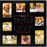 """New View Family Grows"""" 8-Opening Collage Frame"""