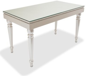 Michael Amini Glimmering Heights 3 Drawer Writing Desk