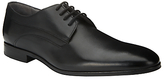 Kin By John Lewis Alex Leather Lace-up Derby Shoes, Black