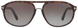 Tom Ford Jacob Oval Sunglasses