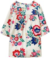 Crazy 8 Floral Ruffle Top
