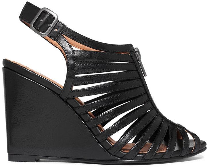 Rampage Caligo Zip Up Wedge Sandals
