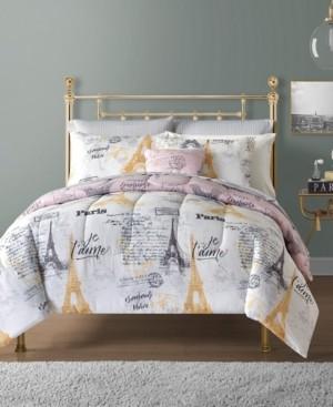 Sunham Paris 12-Pc. Reversible Comforter Sets Bedding