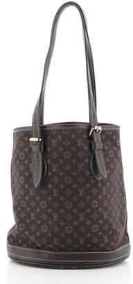 Louis Vuitton Petit Bucket Bag Mini Lin