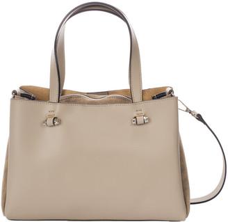 Italian Leather Top Handle Bag